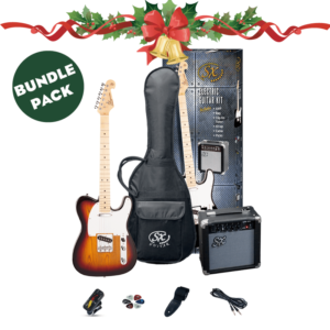 Electric Guitar Packs – Choice of Style and Colour