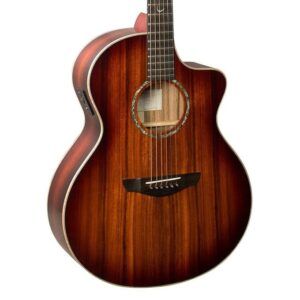 Faith FNCE-BMB Blood Moon Neptune Cutaway Acoustic Guitar W/Gig Bag and a Free Lesson