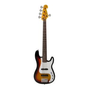 SX ELECTRIC BASS PB, 3 COLOUR SB 5-STRING W/Gig Bag and a Free Lesson