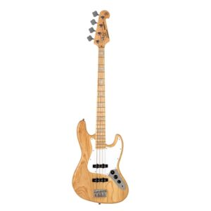 SX Electric Bass JB, Swamp Ash, Natural W/Gig Bag and a Free Lesson