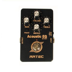 Artec Guitar Outboard Preamp With Belt Clip