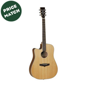 Tanglewood TW28 CSN CE Left Handed Acoustic W/Gig Bag and a Free Lesson