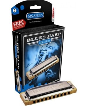 Hohner MS-Series Blues Harp in E – M533056x