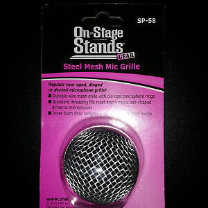 On-Stage Steel Mesh Mic Grille – SP-58