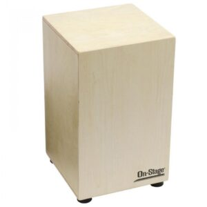 On-Stage Cajon Snare + Carry Bag