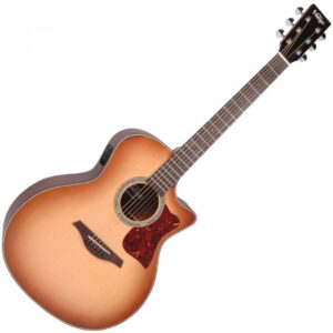 Vintage Electro-Acoustic Sweetwater VGA900SB Guitar in Sunburst W/Gig bag and a Free Lesson