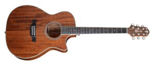 Crafter TE-6MH W/Gig Bag and a Free Lesson