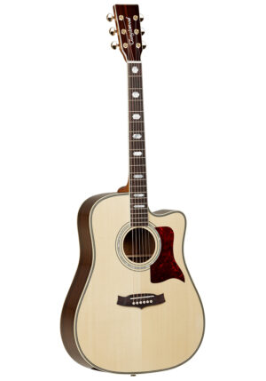 Tanglewood TW1000 CE Electro Acoustic Guitar W/Gig Bag and a Free Lesson