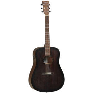 Tanglewood – TWCR DE Crossroads Electro Acoustic Guitar W/Gig Bag and a Free Lesson