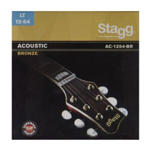 Stagg Acoustic Bronze Guitar Strings – 12 – 54