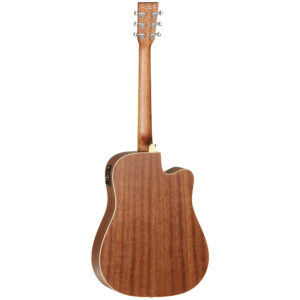 Tanglewood – TW10LH Dreadnought Cutaway Acoustic-Electric Guitar w/Boston Hardcase