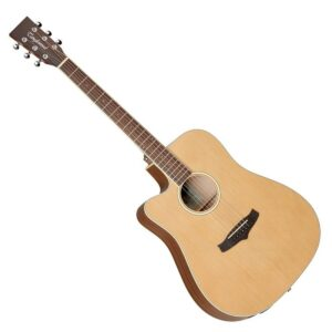 Tanglewood – TW10 Dreadnought Cutaway Acoustic-Electric Guitar w/Boston Hardcase
