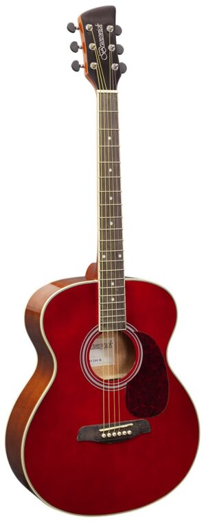 Brunswick Grand Auditorium Red Gloss W/Gig Bag and a Free Lesson