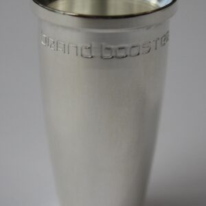Brand Trumpet Mouthpiece Booster – Polished Silver