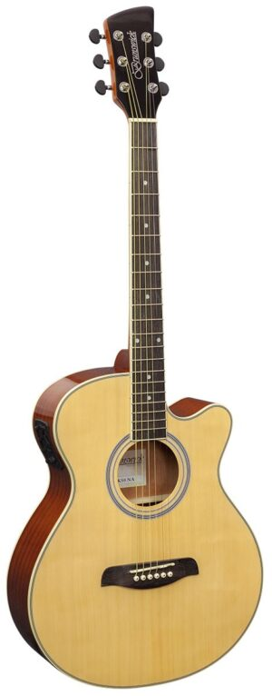 Brunswick Grand Auditorium Electro Acoustic Natural – BTK50NA W/Gig Bag and a Free Lesson