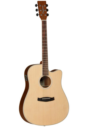 Tanglewood DBT DCE BW Discovery Dreadnought Electro Acoustic Guitar With FREE extras