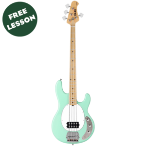 Sterling by Music Man Sub Ray4 4 String Electric Bass W/Gig Bag and a Free Lesson