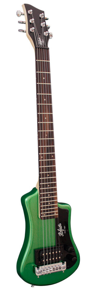 Hofner HCT Shorty Guitar – Green W/Gig Bag and a Free Lesson