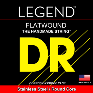 DR Strings Legends Flats Electric Extra – Light