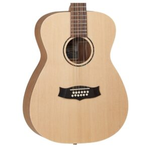 Tanglewood TWRO12 Roadster Folk 12 String Acoustic Guitar W/Gig Bag and a Free Lesson