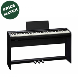 Roland FP-30 Digital Piano with Stand and Pedalboard – Black
