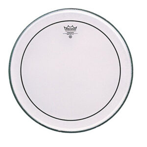 Remo 12-Inch PS-0312-00 Pinstripe Clear Drumhead