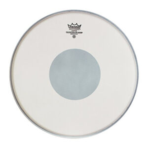 Remo Controlled Sound Coated Drum Head With Reverse Black Dot 14-Inch –