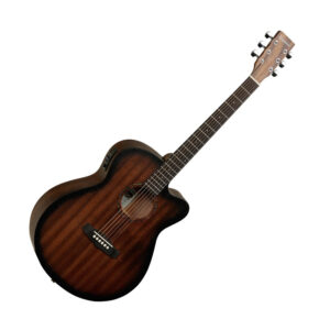 Tanglewood TWCR SFCE Super Folk Crossroads Series Acoustic Guitar W/Gig Bag and a Free Lesson