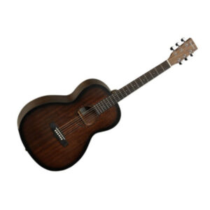 Tanglewood TWCR P Crossroads Parlor Electro Acoustic Guitar W/Gig Bag and a Free Lesson