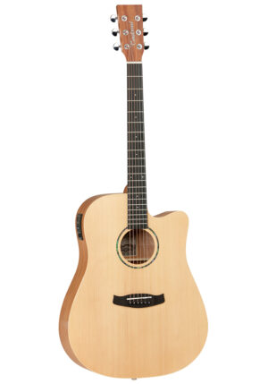 Tanglewood TWR2 DCE Natural Electro Acoustic Guitar W/Gig Bag and a Free Lesson