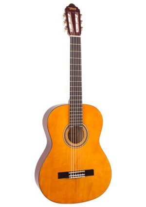 Valencia VC202 1/2 Size Classical Guitar Antique Natural with FREE extras