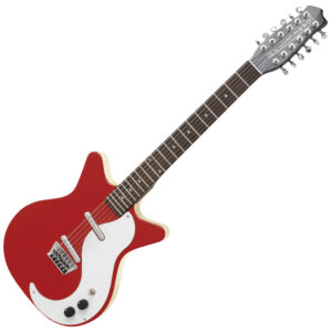 Danelectro '59 12 String Guitar ~ Red W/Gig Bag and a Free Lesson