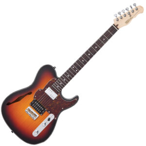 Fret-King Country Squire Semitone ~ Original Classic Burst W/Gig Bag and a Free Lesson
