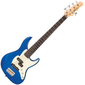 Fret-King Black Label Esprit Bass ~ Candy Apple Blue W/Gig Bag and a Free Lesson