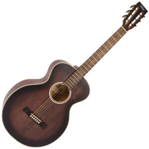 Vintage Historic Series 'Parlour' Acoustic Guitar ~ Aged Finish W/Gig Bag and a Free Lesson