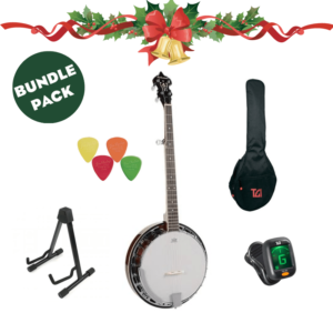 5-string Banjo Bundle W/Loads of extra's & FREE NI Wide delivery