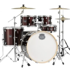 Mapex ST5295FT-DR Storm Special Edition Burgundy Drum Kit w/ Paiste Cymbals and a Free Lesson