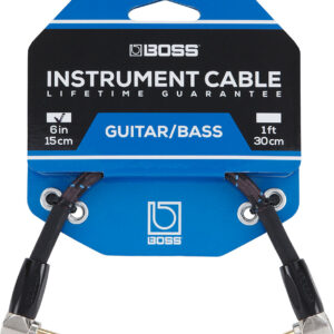 Boss Guitar/Bass Instrument Cable 6 inches