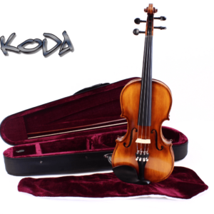 1/2 Size Violin, Koda HDV21 Student Fiddle with Case, Bow and Rosin