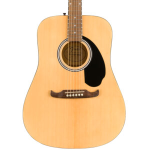 Fender FA-125 Natural Dreadnought with Walnut Fingerboard w/ bag