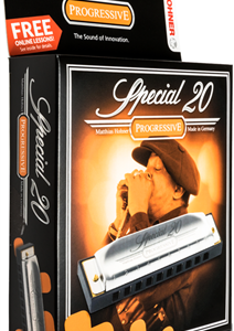Hohner 560BX-A Special 20 Harmonica, Key of A