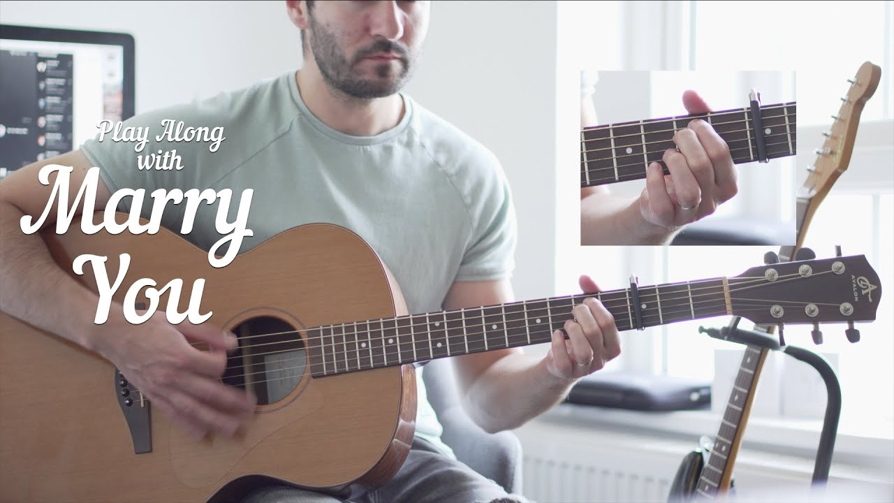 Guitar Play Along: Marry You by Bruno Mars