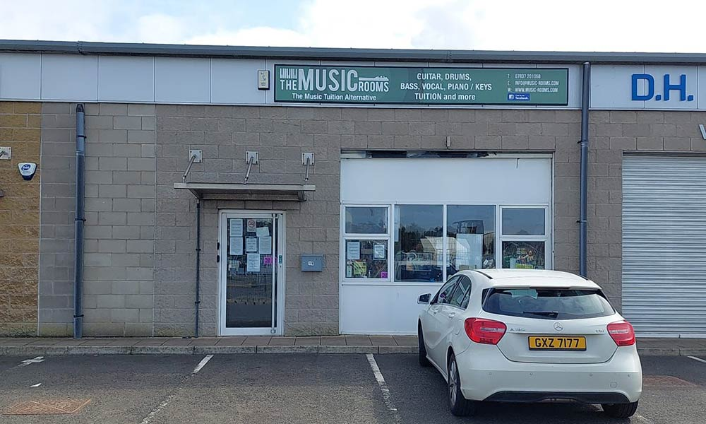 The Music Rooms in Antrim town