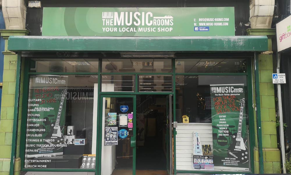 The Music Rooms in Ballymena