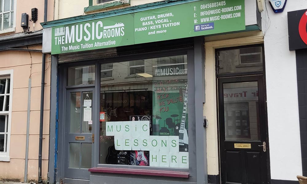 Our Locations The Music Rooms