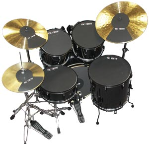 Vic Firth Drum Mutes Complete Standard Kit