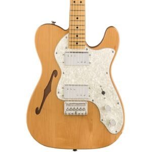 Squier Classic Vibe 70s Telecaster Thinline Natural With Maple Fingerboard